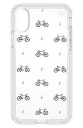 Speck Bikes And Bolts Transparent Iphone X Case Yellow