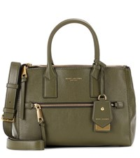 Marc Jacobs Recruit East West Leather Tote Green