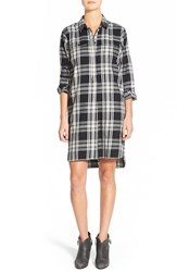 Women's Madewell 'Daywalk' Glendale Plaid Flannel Shirtdress