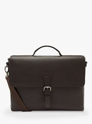 Ted Baker Departs Leather Satchel Chocolate