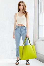 Silence And Noise Silence Noise Modern Tote Bag Yellow