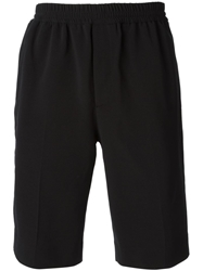 Carven Tailored Stretch Shorts Black