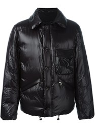 08Sircus Padded Bomber Jacket Black
