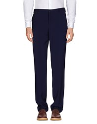 Versace Collection Trousers Casual Trousers Dark Blue