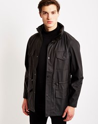 Rains Four Pocket Jacket Black