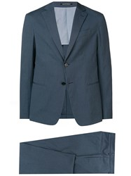 Emporio Armani Two Piece Suit Blue