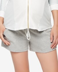 A Pea In The Pod Maternity Shorts Heather Grey