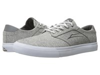 Lakai Porter Grey Textile Men's Shoes Gray