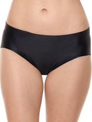Commando Luxe Satin Bikini Brief Black