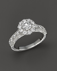 Bloomingdale's Diamond Engagement Ring In 14K White Gold 1.50 Ct. T.W.