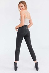 Levi's Wedgie High Rise Jean Midnight Rain Black
