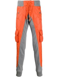 Paul And Shark Two Tone Quilted Contrast Trousers 60
