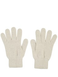 Johnstons Of Elgin Cashmere Ladies Gloves Neutral