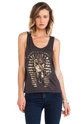 Junk Food Smashing Pumpkins Tank Gray