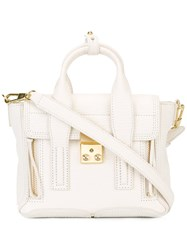 3.1 Phillip Lim Small Pashli Satchel White