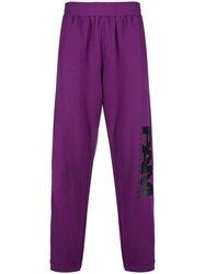 P.A.M. Perks And Mini Pam Logo Track Pants Pink And Purple
