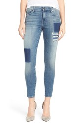 Women's Cj By Cookie Johnson 'Wisdom' Patched Stretch Ankle Skinny Jeans Mariah