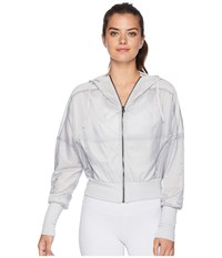 Alo Yoga Aqua Jacket Dove Grey Coat Gray