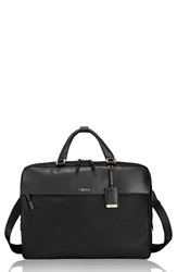 Tumi Westport Slim Nylon And Leather Briefcase