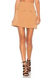 Lovers Friends X Revolve Sienna Skirt Tan