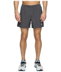 Asics Woven 5 Shorts Dark Grey Men's Shorts Gray