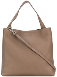 Orciani Soft Tote Brown