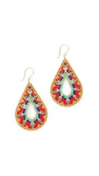 Miguel Ases Hayley Earrings Multi