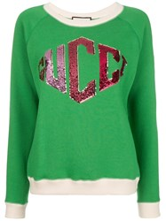 Gucci Logo Sweatshirt Green