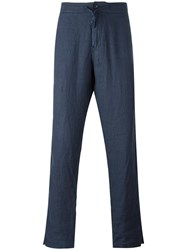 Stone Island Loose Fit Trousers Blue