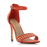 Head Over Heels Marria Knot Detail Sandals Orange