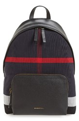 Burberry Men's Abbeydale Canvas Backpack Black