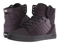 Supra Skytop Black Fade Nylon Women's Skate Shoes