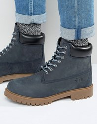 Red Tape Worker Boots Blue