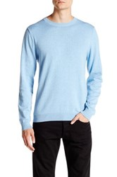 Wallin And Bros Trim Fit Crew Neck Sweater Blue