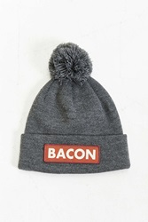 Coal The Vice Bacon Pom Beanie Dark Grey