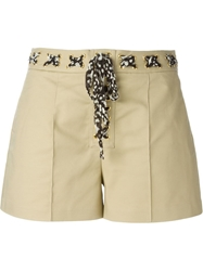 Michael Michael Kors A Line Shorts Nude And Neutrals