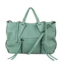 Kooba Dahlia Satchel Dusty Teal