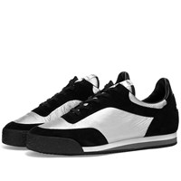 Comme Des Garcons Shirt X Spalwart Silver Pitch Sneaker Black