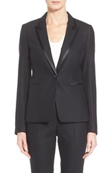 Women's Boss 'Jakina' Satin Trim Blazer