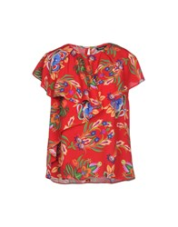 Desigual Blouses Red