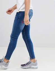 11 Degrees Super Skinny Jeans In Blue