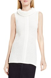 Vince Camuto Women's Two By Sleeveless Cable Stitch Cowl Neck Sweater