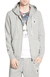 Men's Converse 'Core' Zip Hoodie Vintage Grey