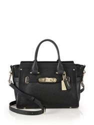 Coach Swagger Pebbled Leather Satchel