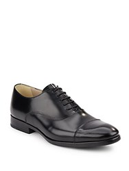 Kenneth Cole Reaction Cap Toe Leather Oxfords Black