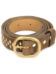 Calleen Cordero 'Envi' Belt Brown