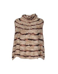 Giorgia And Johns Capes Ponchos Beige