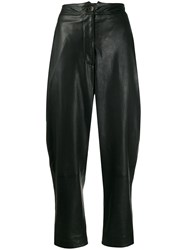 Nehera Black Leather Pants 60