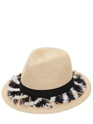Eugenia Kim Lillan Hat W Feathers Natural