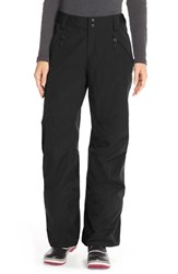 The North Face Women's 'Freedom' Waterproof Heatseeker Insulated Snow Pants Tnf Black